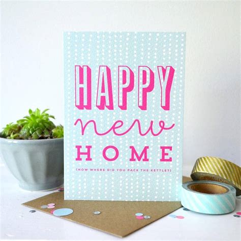 happy home products sprinkle happy new home card by paper arrow press