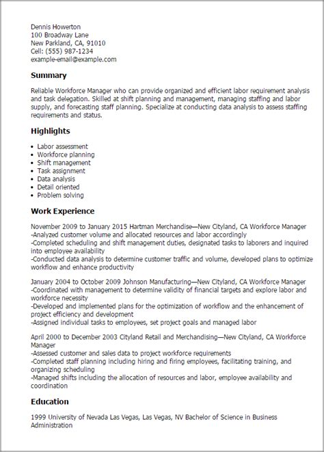 Vp Talent Management Resume by Sle Resume Talent Management Resume Personalvaporizer