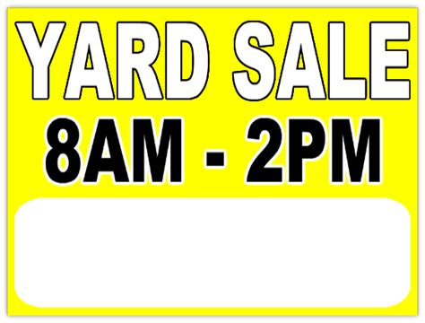 yard sale template garage sale 111 garage sale sign templates
