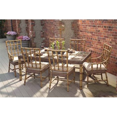 whitecraft south terrace outdoor dining furniture set