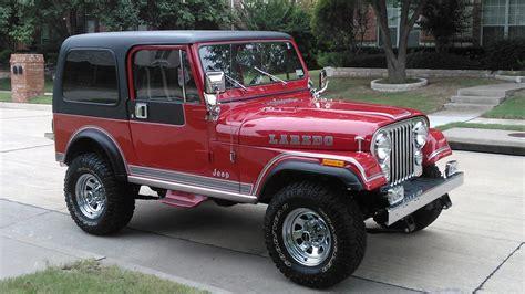 jeep cj laredo 1983 jeep cj 7 laredo f38 dallas 2016