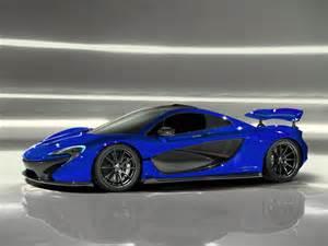 Blue F1 Mclaren P1 Engine Bay Mclaren Free Engine Image For User