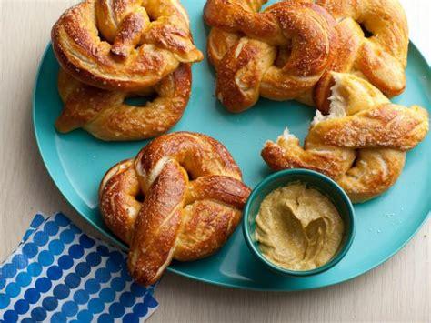 pretzel recipe soft pretzels recipe alton brown food network