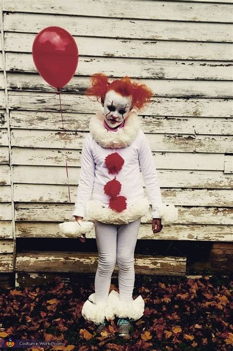 pennywise girls costume diy costumes