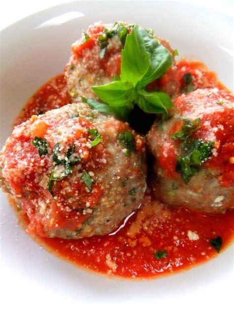 ricotta filled meatballs recipe dishmaps