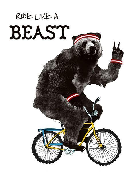 bear on a bike pin by melody dustman on u better shape up riding bikes