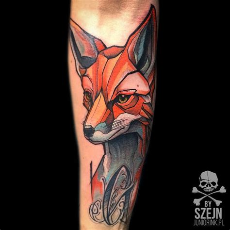 fox by szejn szejno juniorink worsttattooshopintown
