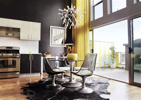 black and yellow dining room dining room in black and yellow one decor