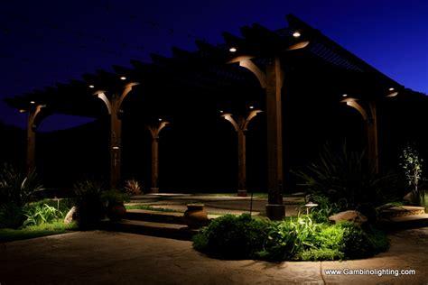 Led Vs Halogen Landscape Lighting - gambino landscape lighting conversion from halogen to led landscape lighting