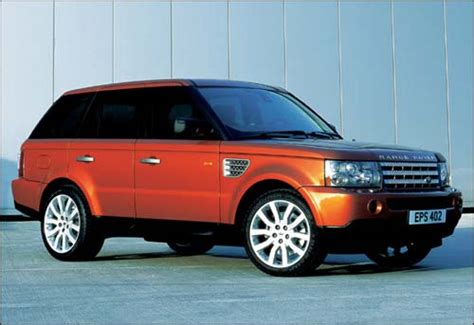 orange range rover sport what is your quot dream quot stable of cars page 4