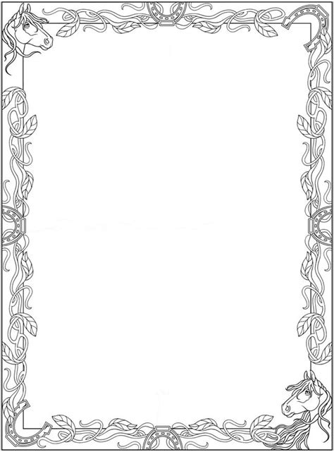 Coloring Page Border by 100 B 228 Sta Bilderna Om Coloring Pages Borders Frames P 229