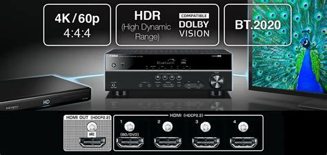 yamaha yht ubl  channel home theater   box