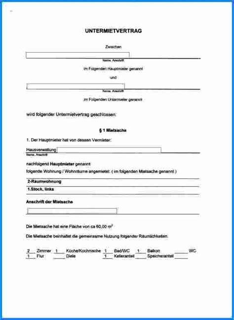 kandigung untermietvertrag vorlage cover letter sample