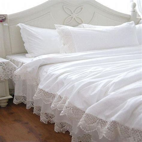 white lace bedspread princess bedding sets queen king