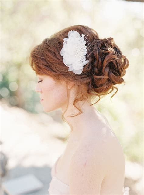 Vintage Wedding Hair Designs by Sibo Design S 2013 Collection Chic