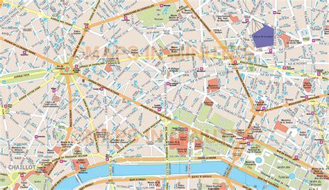 printable maps paris maps update 21051488 paris tourist map english pdf