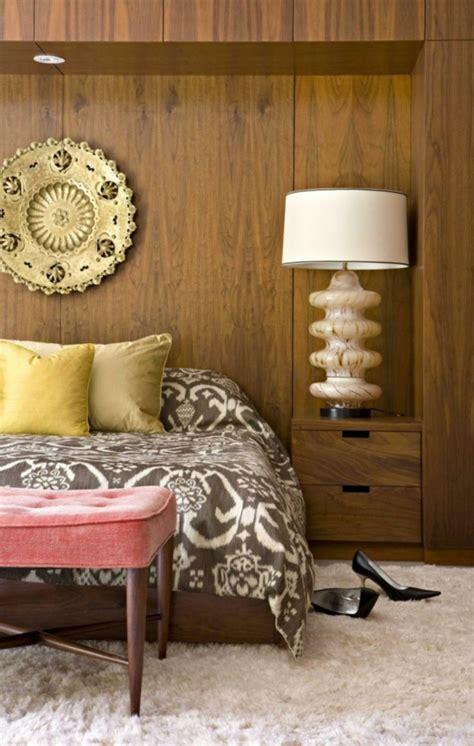 rückwand bett holz afrikanisches schlafzimmer wandfarbe die neuesten