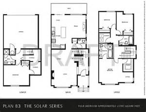 Floor Plans For Townhomes by Gallery For Gt Townhouse Floor Plans With Garage