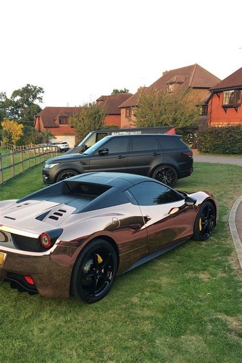 rose gold ferrari rose gold ferrari proyecto autos pinterest