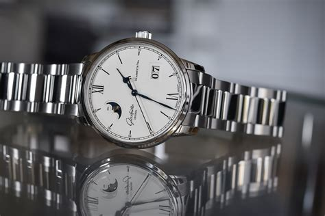 Exellence Watches 1 glash 252 tte original senator excellence panorama date moon phase steel on specs price