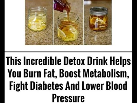 How To Detox When You Diabetes by This Detox Drink Helps You Burn Boost