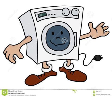 waschmaschine bilder lustige waschmaschine vektor abbildung bild 69453261