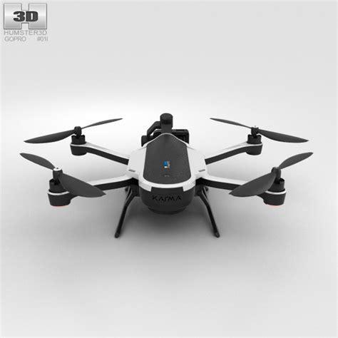 Drone Gopro Karma gopro karma drone 3d model hum3d