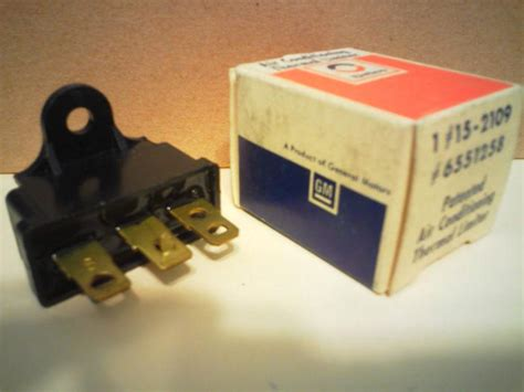 sell buick gm ac delco air conditioning compressor thermal limiter fuse switch nos motorcycle in
