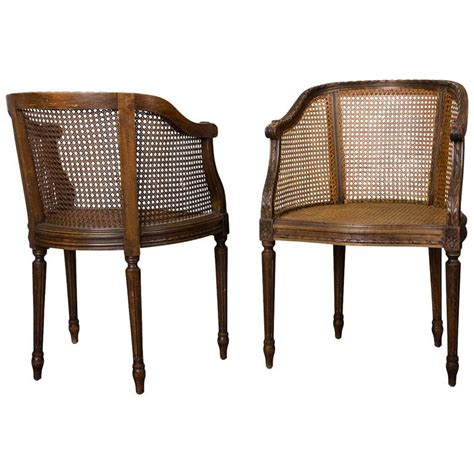 Wicker Armchairs Sale by Pair Of End Of 19th Century Wicker Armchairs In The Louis Xvi Style For Sale At 1stdibs