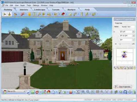 home design landscaping software exles hgtv home design software rendering animation youtube