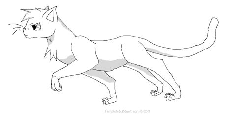 warrior cats kit coloring pages