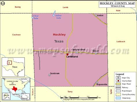 map of levelland texas hockley county map map of hockley county texas