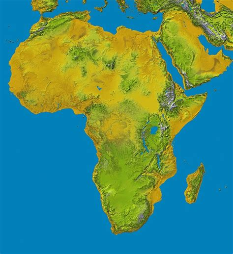 africa map geography free pictures continent 51 images found