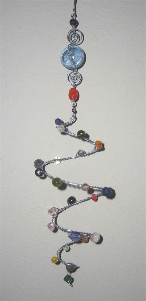 bead and wire crafts 177 best windchimes suncatchers images on