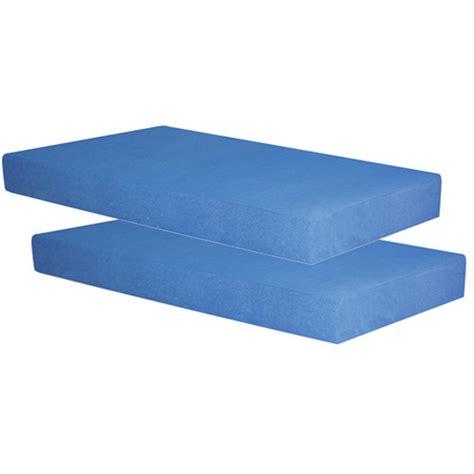 spa sensations 5 quot memory foam youth mattress set of