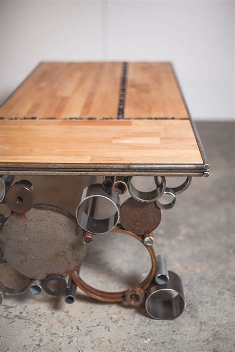 Steel Coffee Table Legs   WoodWorking Projects & Plans