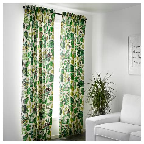 ikea curtains leaves panel curtains olive green sheer curtain panels and white