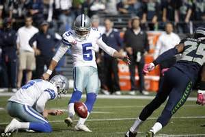 Kickers Coboy dallas cowboys record kicker dan bailey is a boyhood aston