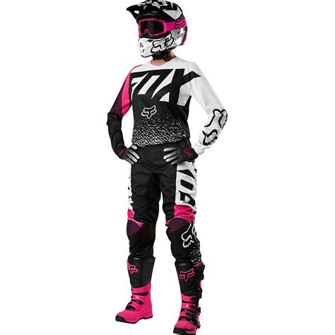 womens fox motocross gear fox racing 2018 mx 180 black pink womens dirt