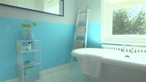 Dulux Bathroom Ideas by Bathroom Ideas Using Marine Splash Dulux Youtube