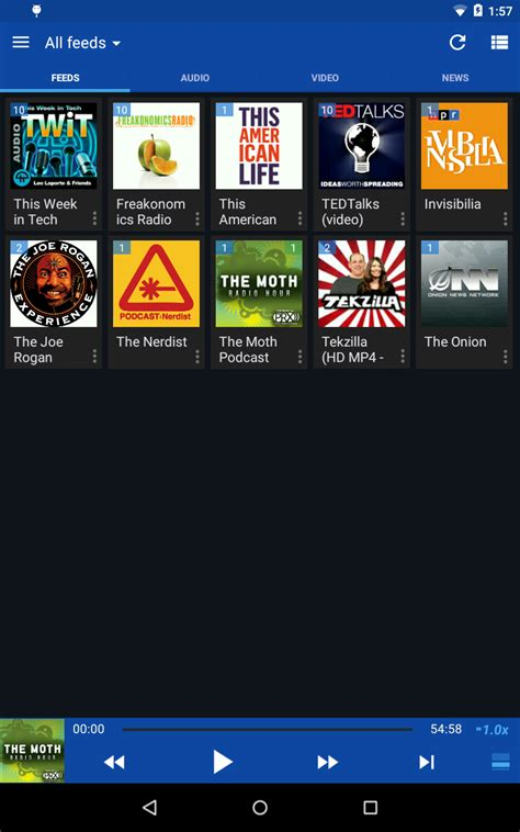 podcast players for android doggcatcher podcast player appstore for android