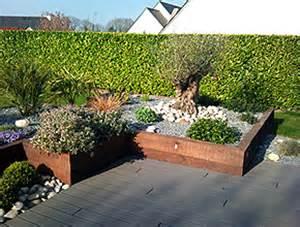 nivrem terrasse bois jardin japonais diverses