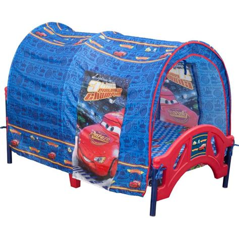 cars bed tent delta children disney pixar cars tent toddler canopy bed