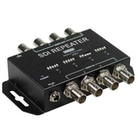 hd sdi cctv 4 ch sdi repeater for hd sdi cctv cameras and dvrs