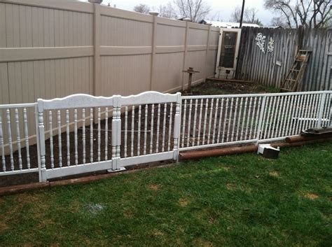 Unsafe Cribs by Fence Built Out Of Quot Unsafe Quot Crib Parts Reuse Redo