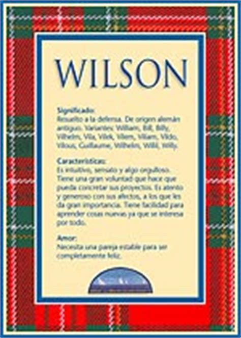 Imagenes Te Quiero Wilson | wilson el significado del nombre wilson tuparada com