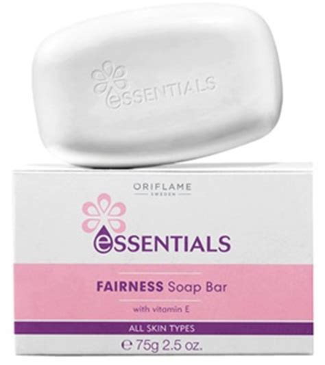 Essentials Fairness Soap Bar Oriflame Top 10 Best Skin Whitening Soaps In India