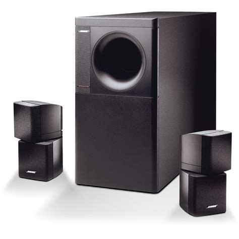 bose acoustimass 5 series iii speaker system black 21725 b h