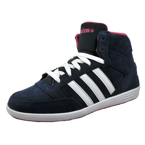 Original Adidas Hoops Mid Top adidas vlneo hoops mid womens classic casual suede leather