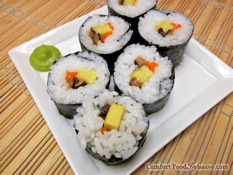 roll sushi sushi rolls comfort food infusion
